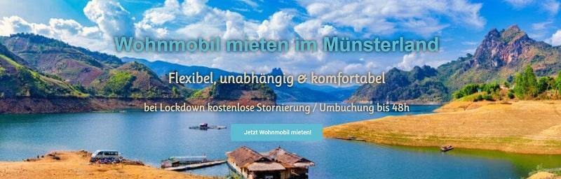 Wohnmobil mieten in NRW: Camper mieten mit Versicherung bei Roadhome24