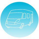 Icon Wohnmobilausstattung von Roadhome24: Wohnmobilvermietung / Wohnmobil mieten Münster. Günstig Camper mieten NRW
